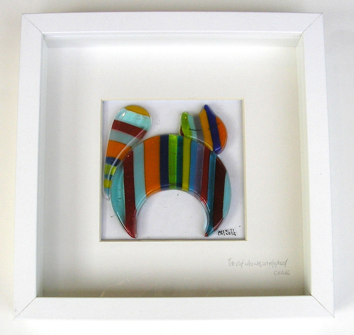 Small Framed Panels - Inlight - Contemporary Fused Glass by Chantal ...
